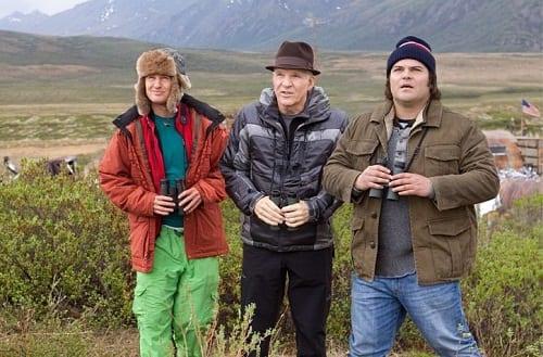 Steve Martin, Jack Black and Owen Wilson in The Big Year