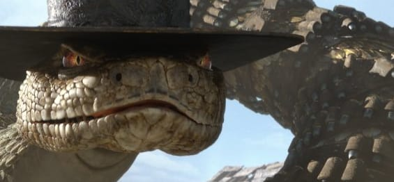 Bill Nighy as Rattlesnake Jake