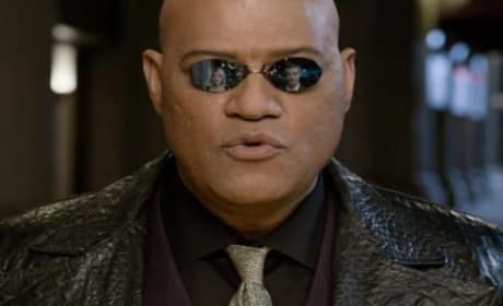 Morpheus Returns in The Matrix-Themed Super Bowl Commercial!