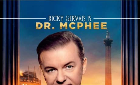 Night at the Museum: Secret of the Tomb Ricky Gervais Poster