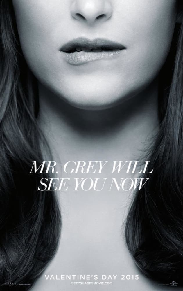 Fifty Shades of Grey Dakota Johnson Poster