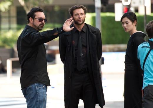 The Wolverine James Mangold and Hugh Jackman