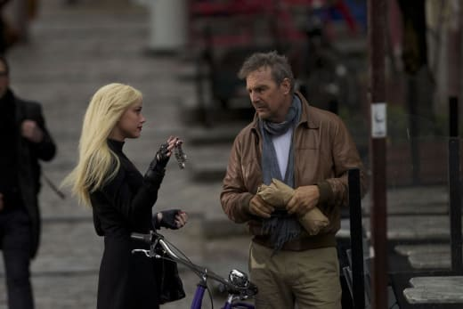 3 Days to Kill Amber Heard Kevin Costner
