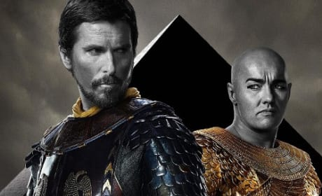 Exodus: Gods and Kings Christian Bale Joel Edgerton Poster