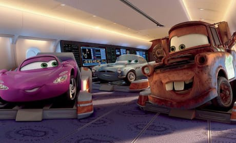 New Photos, Videos For Cars 2, Including New Car Finn McMissile
