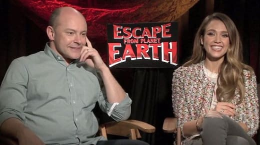 Rob Corddry and Jessica Alba Picture
