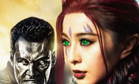 X-Men: Days of Future Past Character Poster Daniel Cudmore Fan Bingbing