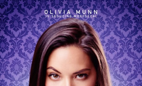 Mortdecai Olivia Munn Character Poster