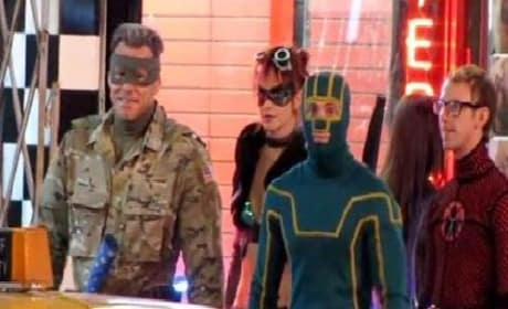 Kick-Ass 2: Set Video of Jim Carrey as Colonel Stars