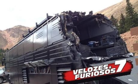 Fast and Furious 7 Set Photos
