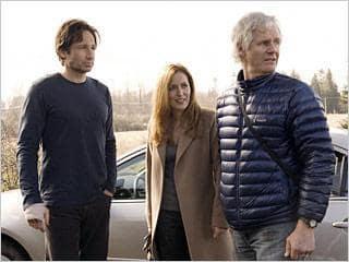 David Duchovny, Gillian Anderson, Chris Carter