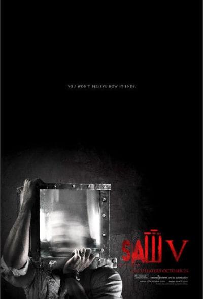 New Saw V Poster