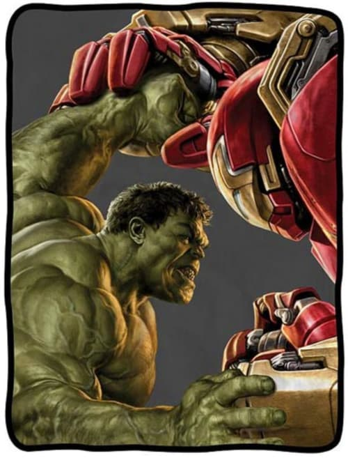 Avengers Age of Ultron Promo Art Inside Hulkbuster Fighting Hulk