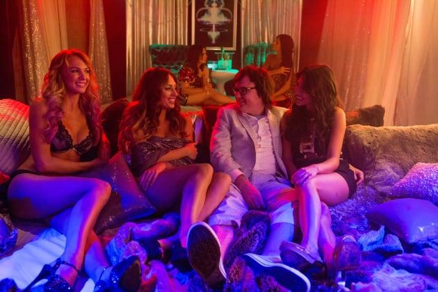 Clark Duke and His Girlfriends