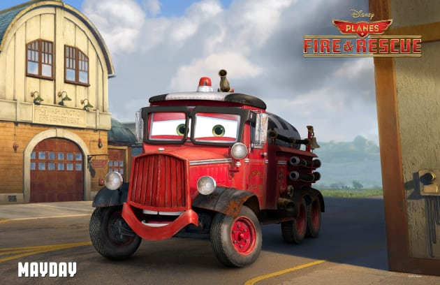 Planes Fire and Rescue Mayday Poster