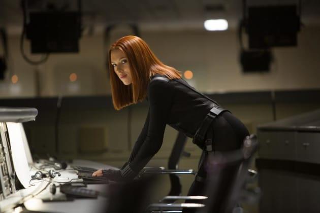 Scarlett Johansson is Black Widow