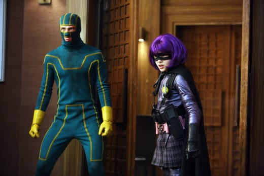 Kick-Ass and Hit Girl Ready for Action!