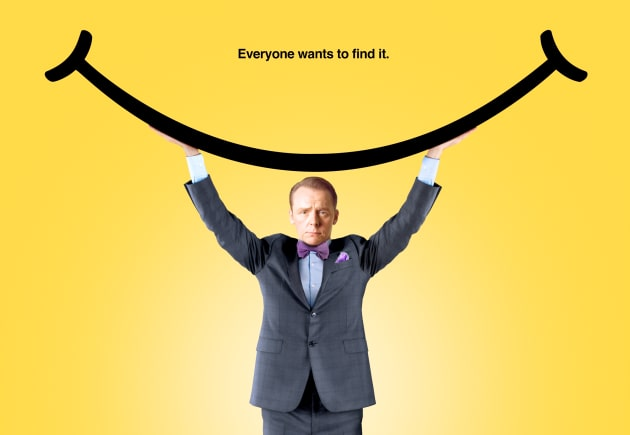 Hector and the Search for Happiness Simon Pegg Poster