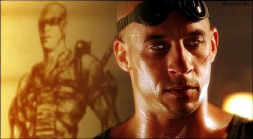 Riddick Stars Vin Diesel as Riddick