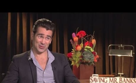 Saving Mr. Banks: Colin Farrell Exclusive Interview