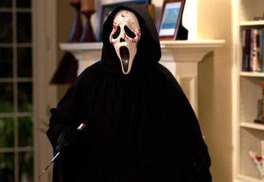 Ghostface in Scream 4 Still