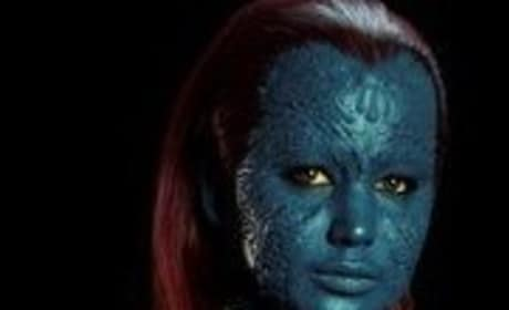 Jennifer Lawrence Talks Blue Paint in X-Men