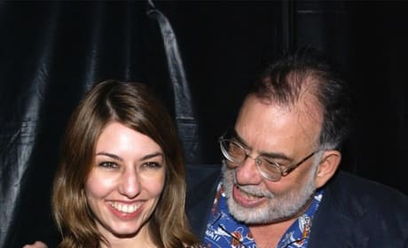 Sofia Coppola Francis Ford Coppola Photo