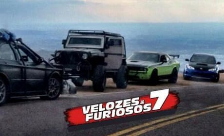 Fast and Furious 7 Set Photo