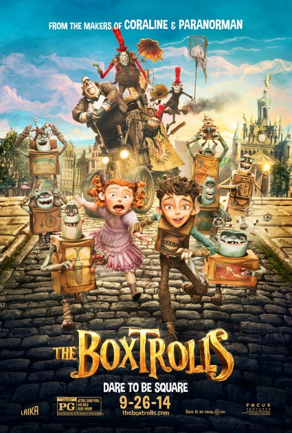 The Boxtrolls Official Movie Poster
