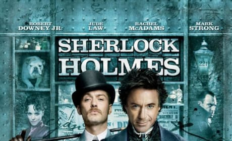 Sherlock Holmes Uncovers a New Poster!