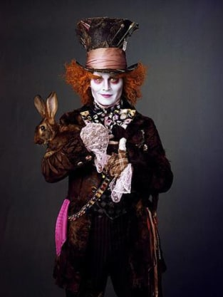 Depp as The Mad Matter