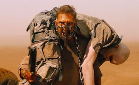 Tom Hardy Nicholas Hoult Mad Max Fury Road Photo Still