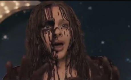 Creepy Carrie Chloe Moretz