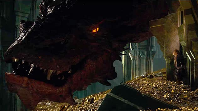 Smaug The Hobbit The Desolation of Smaug