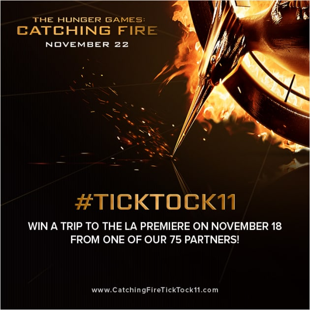 Catching Fire #ticktock11 Logo