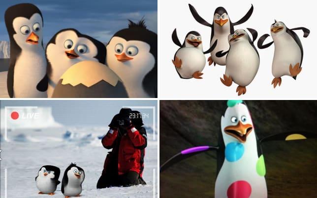 The penguins of madagascar opening scene