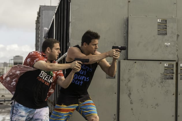 22 Jump Street Action Picture