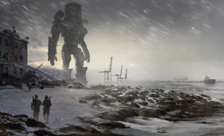 Pacific Rim Concept Art Shows Off Giant Robots