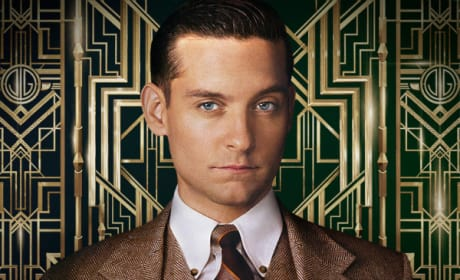 The Great Gatsby Gets Two New Character Posters: Tobey Maguire and Joel Edgerton