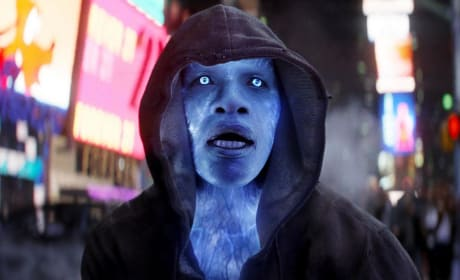 Jamie Foxx is Electro The Amazing Spider-Man 2
