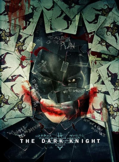 A Dark Knight Poster