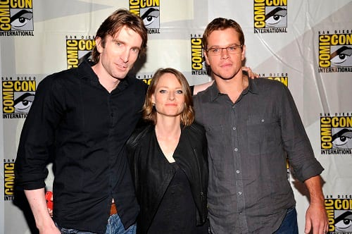 Neill Blomkamp, Jodie Foster and Matt Damon Picture