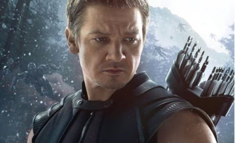 Avengers Age of Ultron Hawkeye Poster: Jeremy Renner Takes Aim!