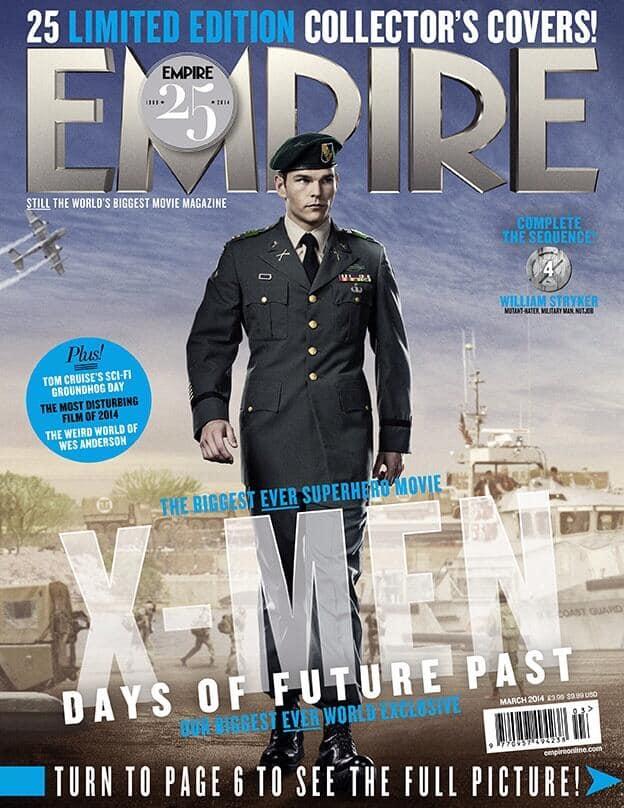 X-men Days of Future Past William Stryker Empire Cover