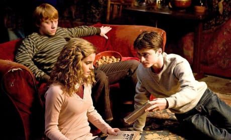 Movie Still from Harry Potter and the Half-Blood Prince