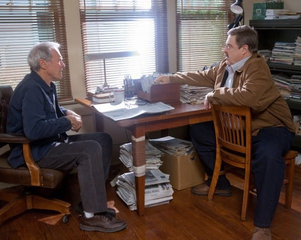 Clint Eastwood and John Goodman Trouble with the Curve