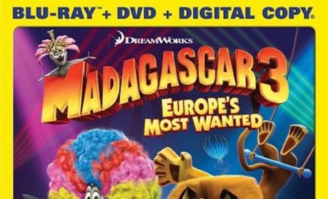 Madagascar 3 Blu-Ray