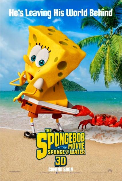 SpongeBob: Sponge Out of Water Poster