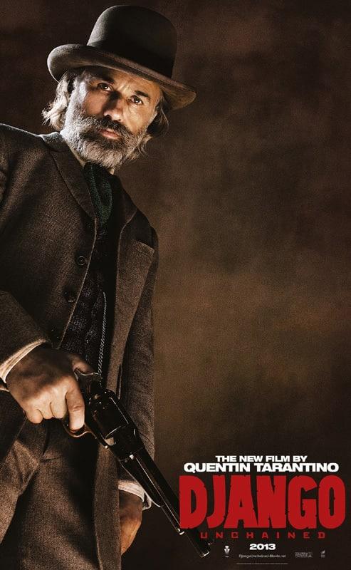 Django Unchained Dr. King Schultz Poster