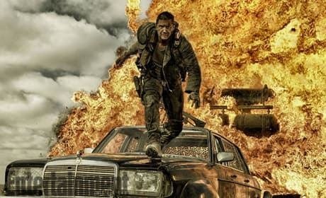 Mad Max Fury Road Photos: Tom Hardy is Explosive